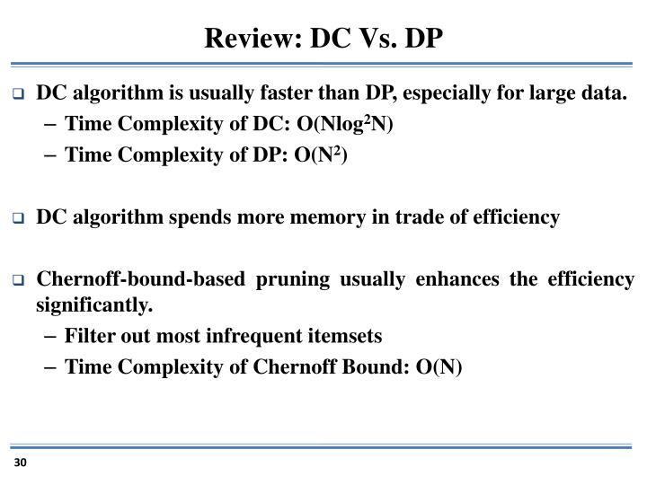 Review: DC Vs. DP