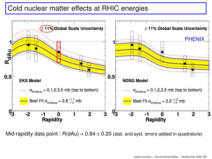 Cold nuclear matter effects at RHIC energies