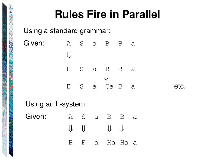 Rules Fire in Parallel