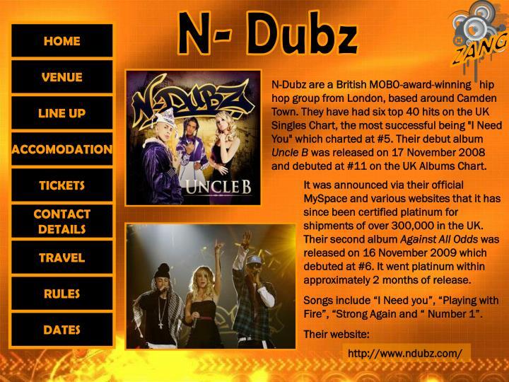 N- Dubz