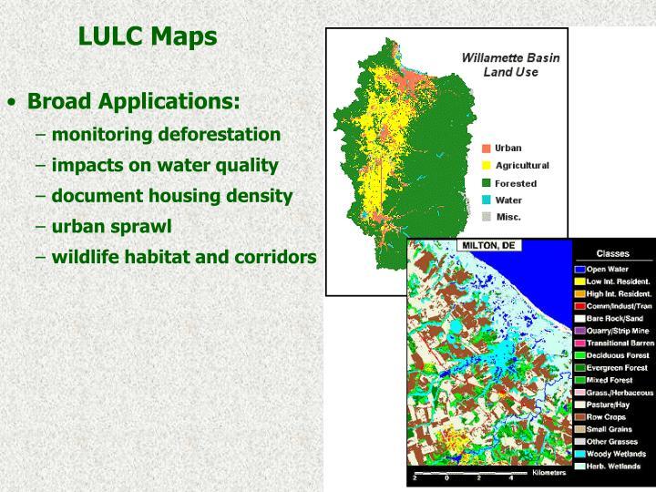 LULC Maps