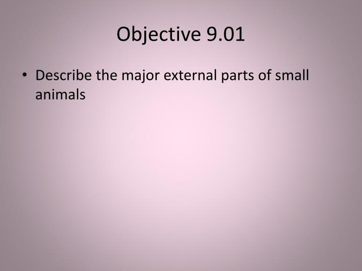 Objective 9 01