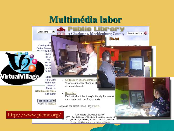 Multimédia labor