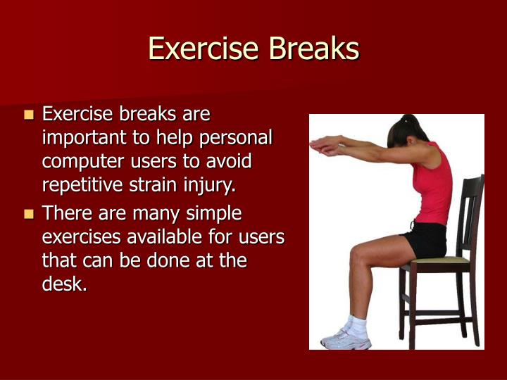 Exercise Breaks
