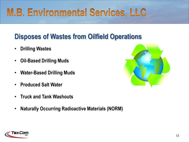 M.B. Environmental Services, LLC