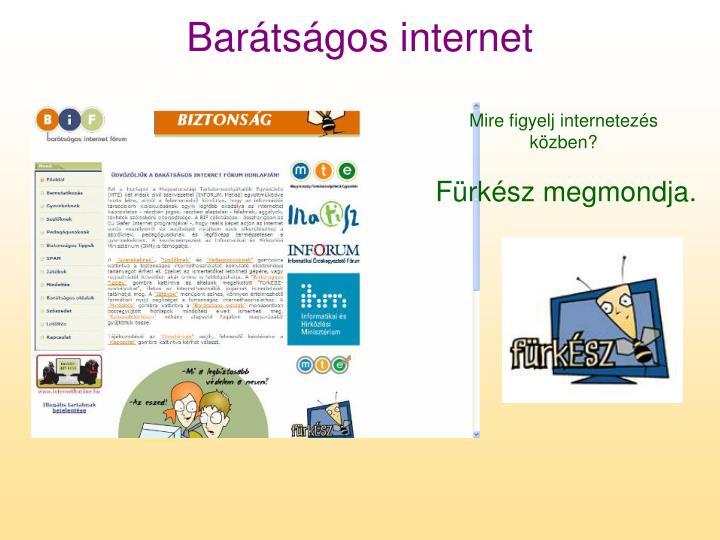 Barátságos internet