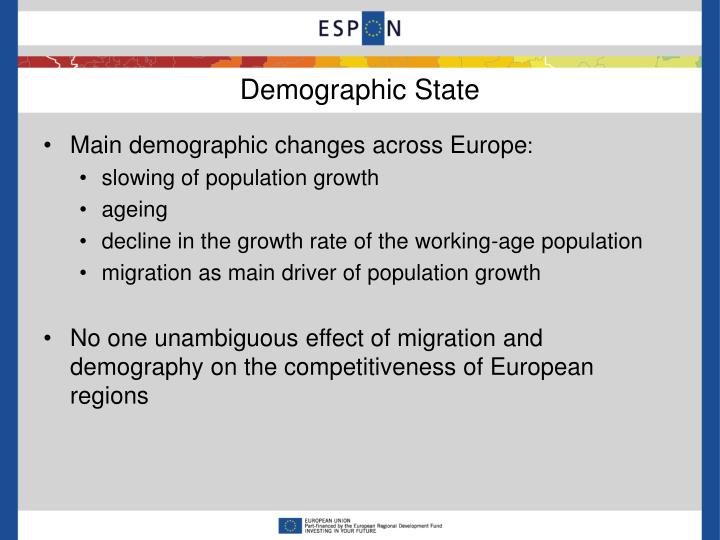 Demographic state