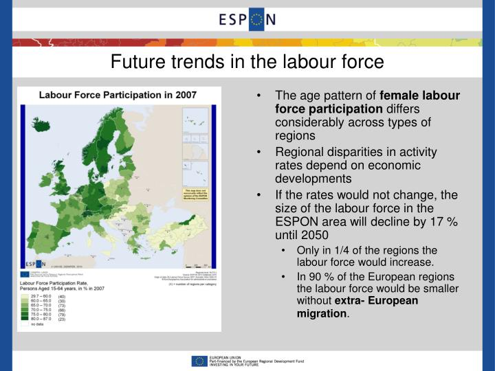 Future trends in the labour force