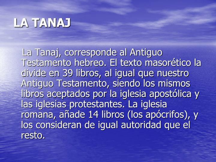 LA TANAJ