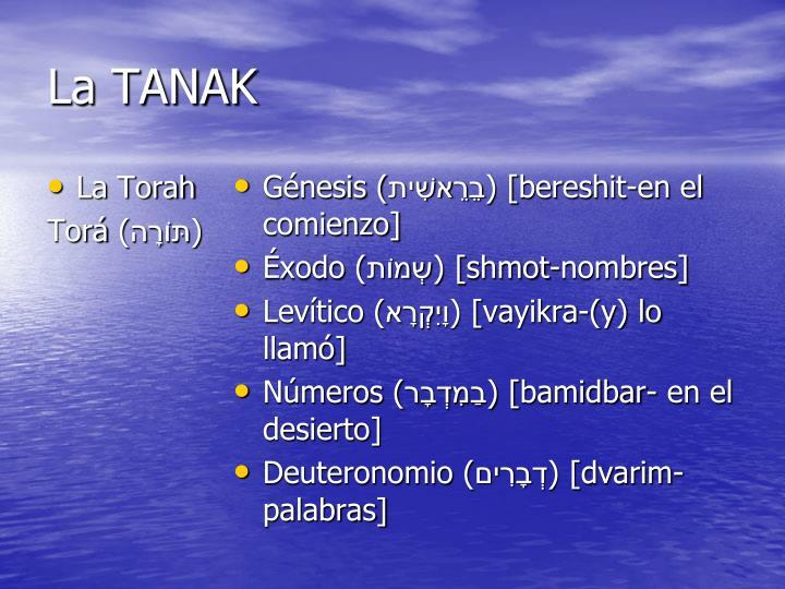 La TANAK