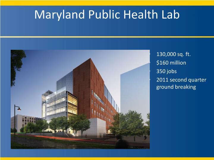Maryland Public Health Lab