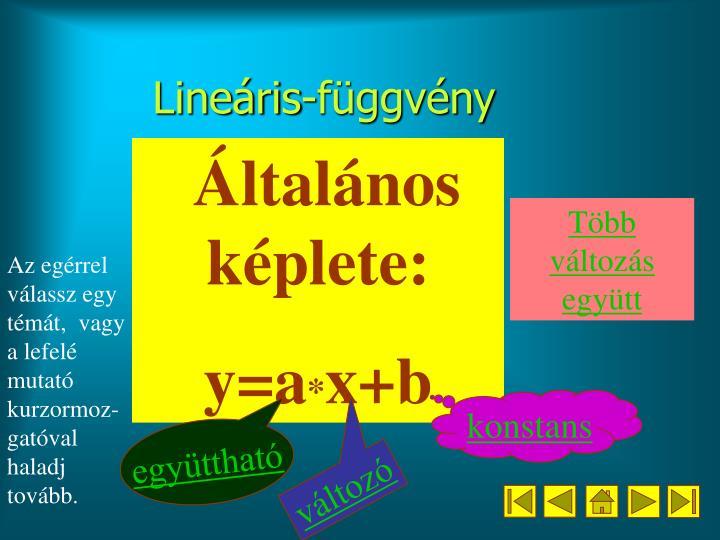 Lineáris-függvény
