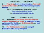 questions isaiah 46 1 210