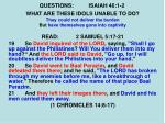 questions isaiah 46 1 211