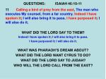 questions isaiah 46 10 115