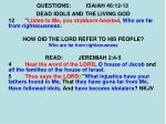questions isaiah 46 12 134