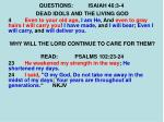 questions isaiah 46 3 410