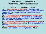 questions isaiah 46 3 42