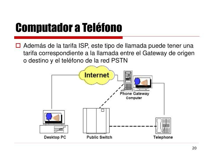 Computador a Teléfono