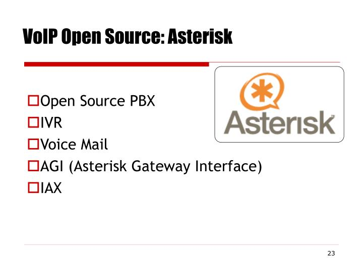 VoIP Open Source: Asterisk