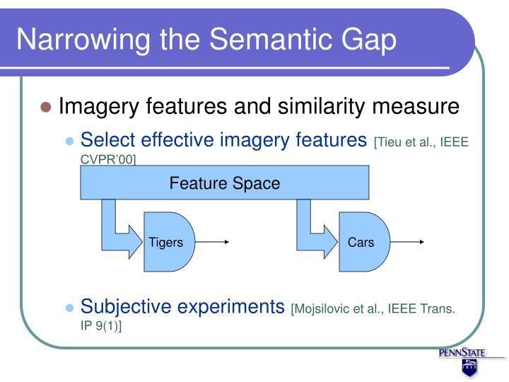 Narrowing the Semantic Gap
