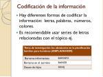 codificaci n de la informaci n1
