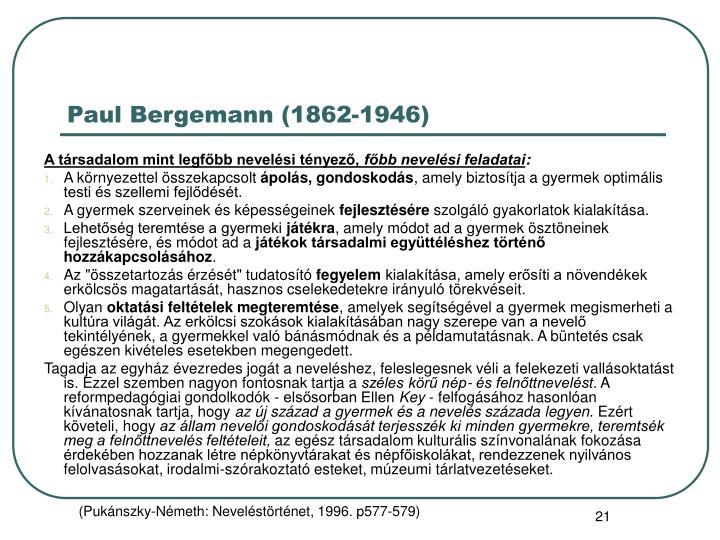 Paul Bergemann (1862-1946)
