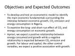 objectives and expected outcomes