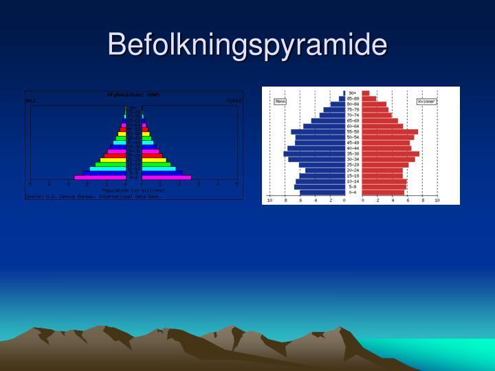 Befolkningspyramide