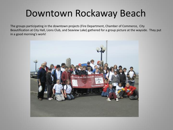 Downtown Rockaway Beach