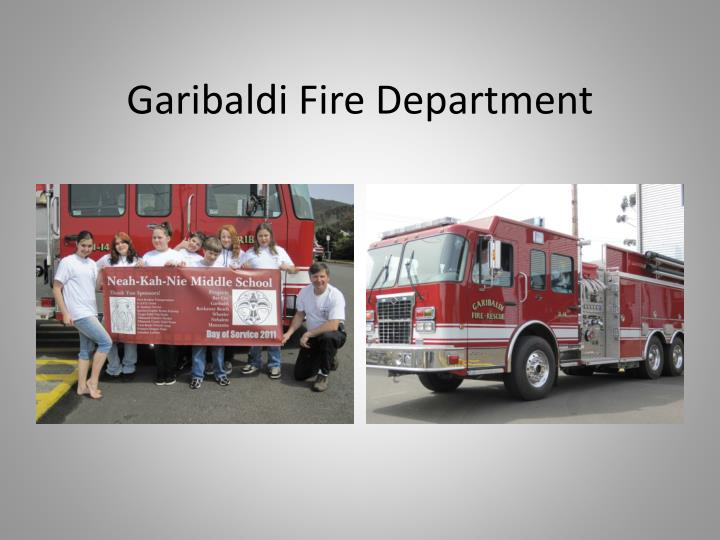 Garibaldi Fire Department