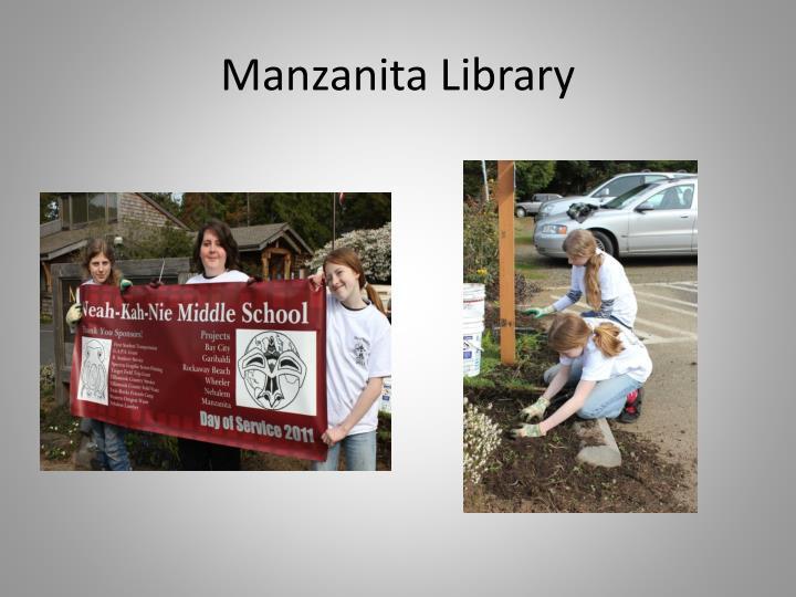 Manzanita Library