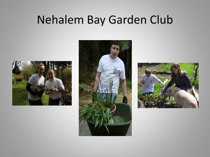 Nehalem Bay Garden Club