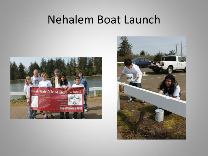 Nehalem Boat Launch
