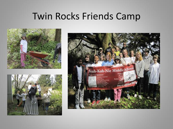Twin Rocks Friends Camp