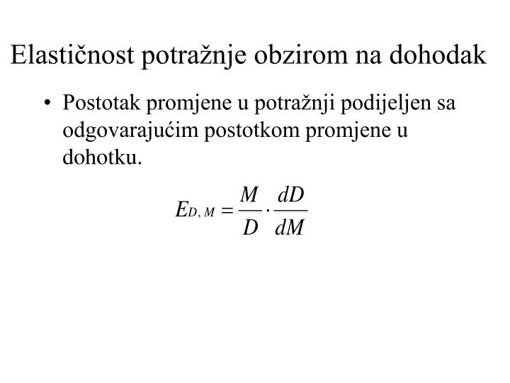 PPT - Ponuda i potražnja PowerPoint Presentation - ID:4419455