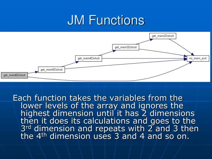 JM Functions