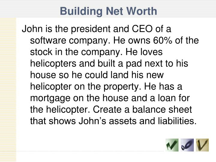 Building Net Worth