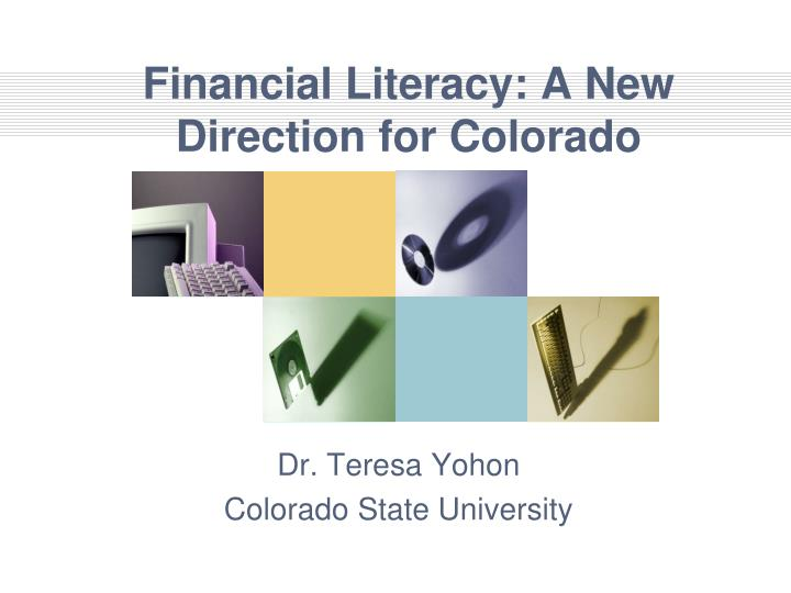 Financial literacy a new direction for colorado