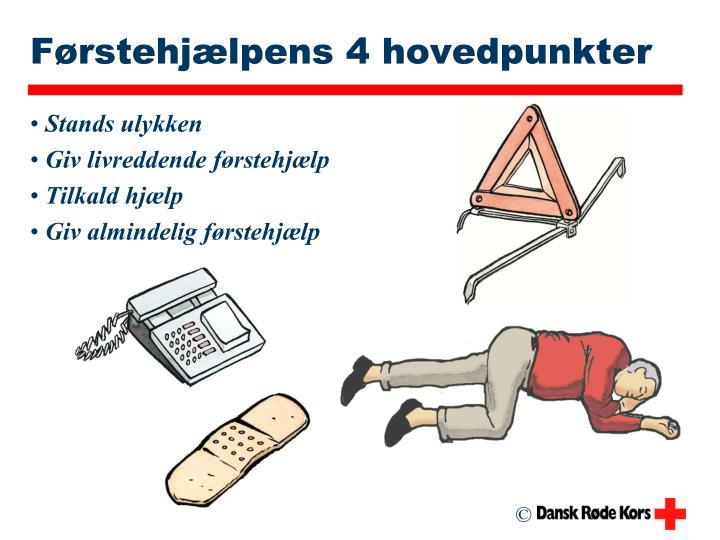 F rstehj lpens 4 hovedpunkter