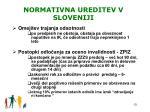 normativna ureditev v sloveniji2