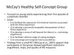 mccay s healthy self concept group