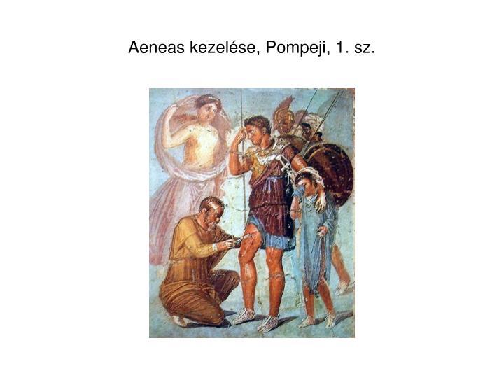 Aeneas kezelése, Pompeji, 1. sz.
