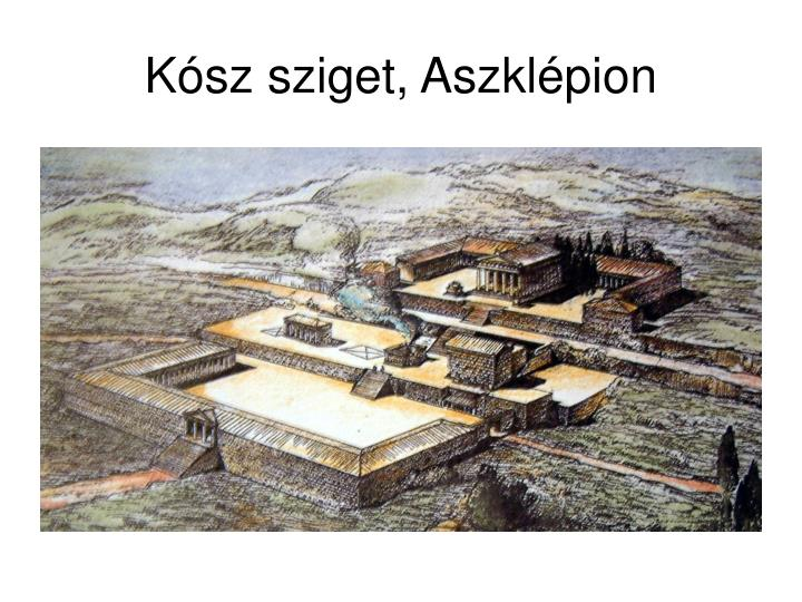 Kósz sziget, Aszklépion