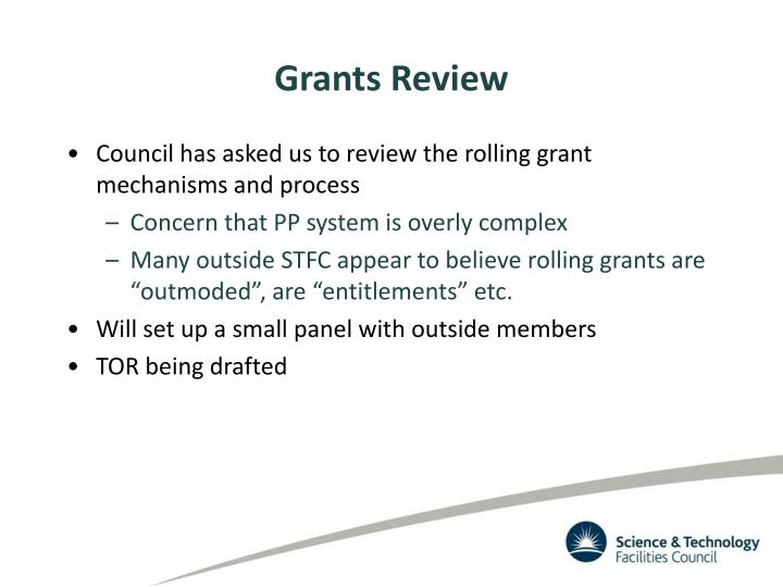 Grants Review