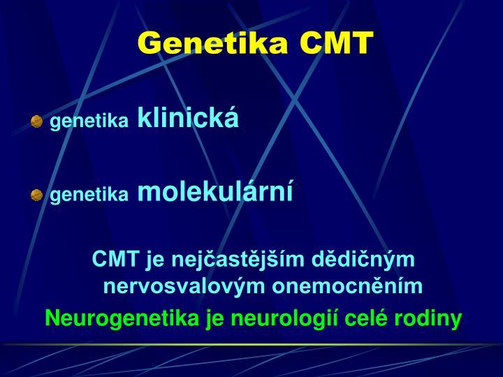 Genetika CMT