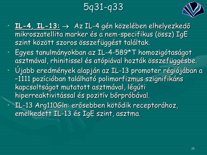 5q31-q33