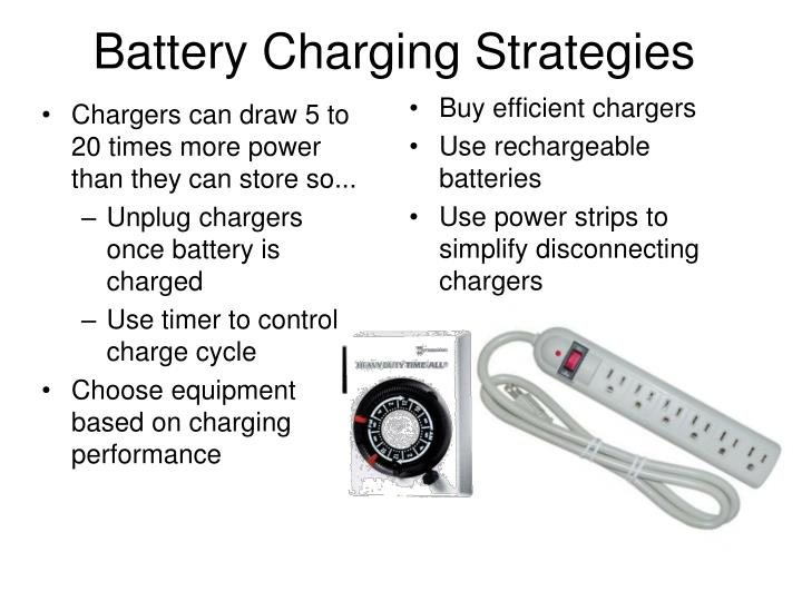 Battery Charging Strategies