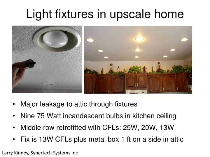 Light fixtures in upscale home