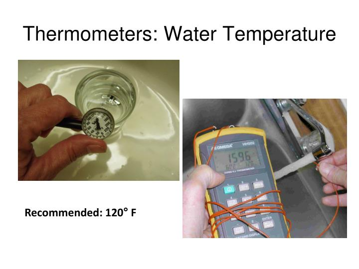 Thermometers: Water Temperature